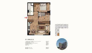 Historical Designed Apartments in Istanbul Zeytinburnu, Property Plans-10