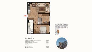Historical Designed Apartments in Istanbul Zeytinburnu, Property Plans-11