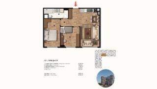 Historical Designed Apartments in Istanbul Zeytinburnu, Property Plans-12