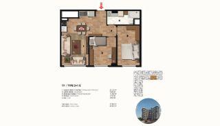 Historical Designed Apartments in Istanbul Zeytinburnu, Property Plans-13