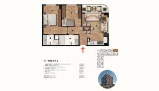 Historical Designed Apartments in Istanbul Zeytinburnu, Property Plans-14