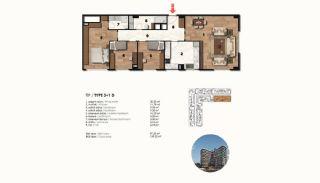 Historical Designed Apartments in Istanbul Zeytinburnu, Property Plans-17