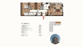 Historical Designed Apartments in Istanbul Zeytinburnu, Property Plans-18