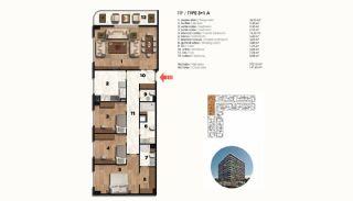 Historical Designed Apartments in Istanbul Zeytinburnu, Property Plans-20