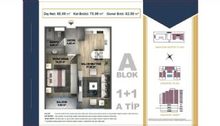 Centrally Located Istanbul Apartments Near the All Amenities, Property Plans-1