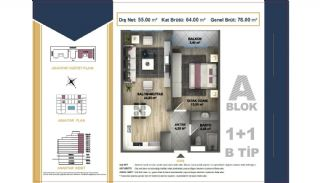 Centrally Located Istanbul Apartments Near the All Amenities, Property Plans-2