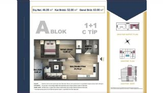 Centrally Located Istanbul Apartments Near the All Amenities, Property Plans-3