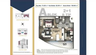 Centrally Located Istanbul Apartments Near the All Amenities, Property Plans-6