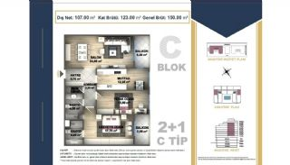 Centrally Located Istanbul Apartments Near the All Amenities, Property Plans-7