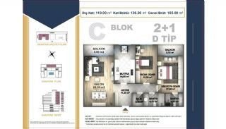 Centrally Located Istanbul Apartments Near the All Amenities, Property Plans-8