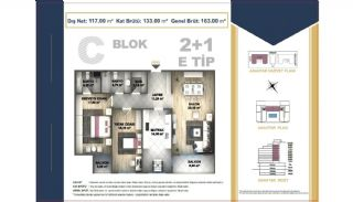 Centrally Located Istanbul Apartments Near the All Amenities, Property Plans-9