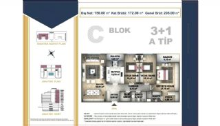 Centrally Located Istanbul Apartments Near the All Amenities, Property Plans-10