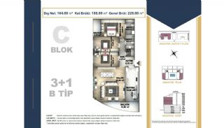 Centrally Located Istanbul Apartments Near the All Amenities, Property Plans-11