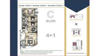 Centrally Located Istanbul Apartments Near the All Amenities, Property Plans-12