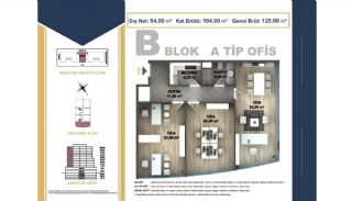 Centrally Located Istanbul Apartments Near the All Amenities, Property Plans-13