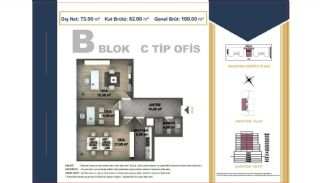 Centrally Located Istanbul Apartments Near the All Amenities, Property Plans-15