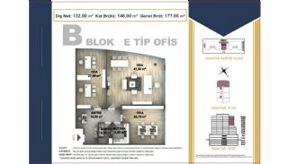 Centrally Located Istanbul Apartments Near the All Amenities, Property Plans-17