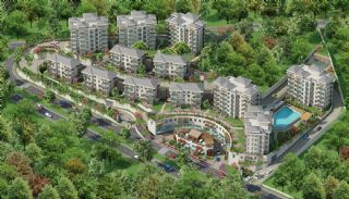 Spacious Istanbul Apartments Next to the Lake Park, Istanbul / Bahcesehir - video