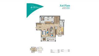 Bahçeşehir'de Muhteşem Manzaraya Sahip Konforlu Daireler, Kat Planları-11