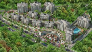 Spacious Istanbul Apartments Next to the Lake Park, Property Plans-14