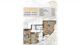 Sea View Apartments Close to the Marina in Istanbul, Property Plans-6