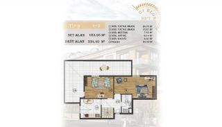 Sea View Apartments Close to the Marina in Istanbul, Property Plans-15