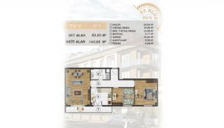 Sea View Apartments Close to the Marina in Istanbul, Property Plans-21