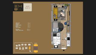 Väl utformade Istanbul-lägenheter 10 minuter till Bosporen, Planritningar-1
