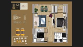 Well-Designed Istanbul Apartments 10 Minutes to Bosphorus, Property Plans-2