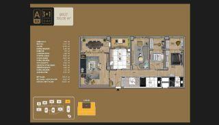 Väl utformade Istanbul-lägenheter 10 minuter till Bosporen, Planritningar-10