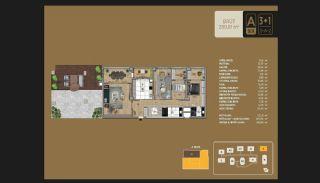 Väl utformade Istanbul-lägenheter 10 minuter till Bosporen, Planritningar-12