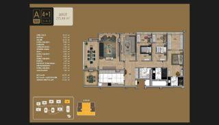 Väl utformade Istanbul-lägenheter 10 minuter till Bosporen, Planritningar-15