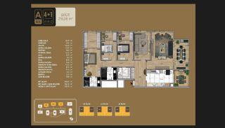 Väl utformade Istanbul-lägenheter 10 minuter till Bosporen, Planritningar-16