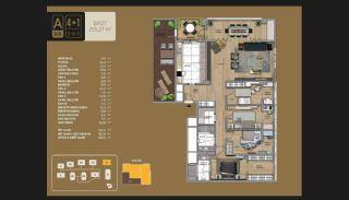 Väl utformade Istanbul-lägenheter 10 minuter till Bosporen, Planritningar-17