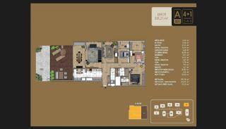 Väl utformade Istanbul-lägenheter 10 minuter till Bosporen, Planritningar-18