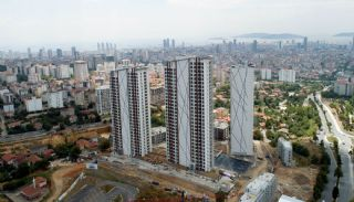 Luxury Sea and Island Views Apartments in Istanbul Kartal, Construction Photos-3