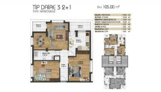 Brand New Turnkey Apartments in Esenyurt Istanbul, Property Plans-6