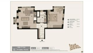 Unique Flats in Renovated Historic Complex in Istanbul, Property Plans-3