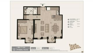 Unique Flats in Renovated Historic Complex in Istanbul, Property Plans-4