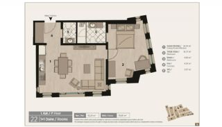 Unique Flats in Renovated Historic Complex in Istanbul, Property Plans-5