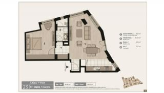Unique Flats in Renovated Historic Complex in Istanbul, Property Plans-6