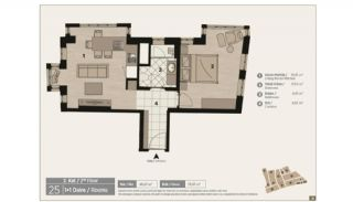 Unique Flats in Renovated Historic Complex in Istanbul, Property Plans-7
