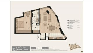 Unique Flats in Renovated Historic Complex in Istanbul, Property Plans-8