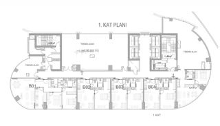 Key Ready Flats with Quality Design in Bagcilar Istanbul, Property Plans-10