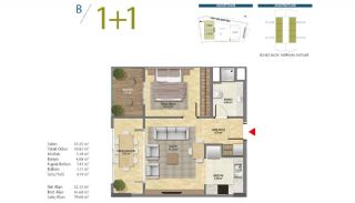 Apartments with Modern and Quality Design in Istanbul, Property Plans-2