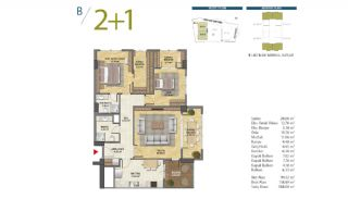 Apartments with Modern and Quality Design in Istanbul, Property Plans-4