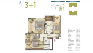 Apartments with Modern and Quality Design in Istanbul, Property Plans-5