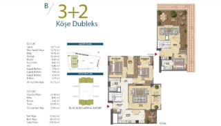 Apartments with Modern and Quality Design in Istanbul, Property Plans-7