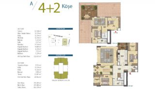 Apartments with Modern and Quality Design in Istanbul, Property Plans-8
