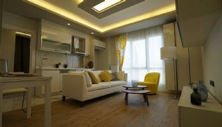 Modern Apartments in Luxury Residential Complex in Istanbul, Interior Photos-1